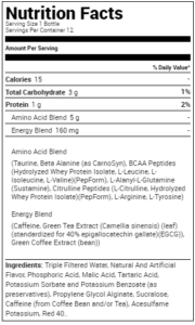 OPTIMUM NUTRITION AMINO ENERGY RTD-12 EACH-STRAWBERRY
