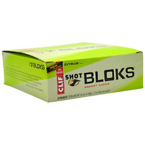 CLIF BAR SHOT BLOKS ENERGY CHEWS-CITRUS