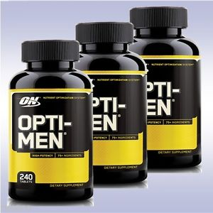 OPTIMUM NUTRITION-OPTI-MEN-240 EA