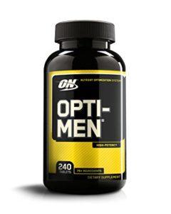 OPTIMUM NUTRITION OPTI MEN-240 EA