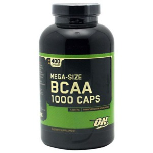 optimum nutrition bcaa - 400 caps
