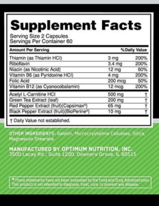 OPTIMUM NUTRITION DAILY FIT-120-EA