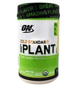 OPTIMUM NUTRITION GOLD STANDARD 100 PLANT PROTEIN-VANILLA