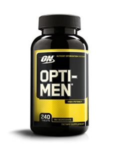 OPTIMUM NUTRITION OPTI MEN-240 EA